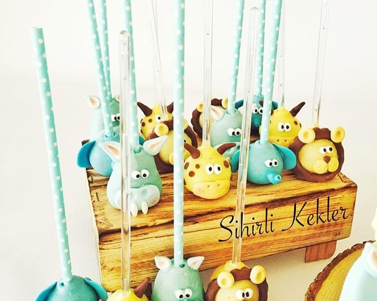 Safari Cakepops