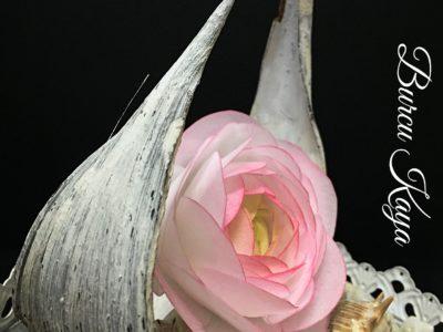 Yenilebilir Kağıttan Erengül Çiçeği