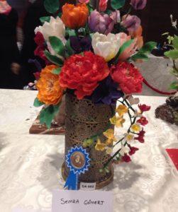 Çiçek Aranjman Bronz Madalya  (73puan) SEMRA CÖMERT