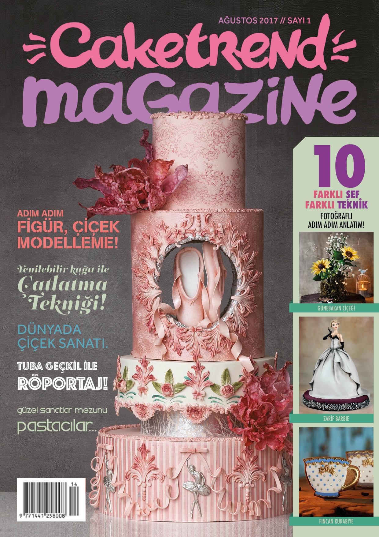 cake trend magazine ilk sayı