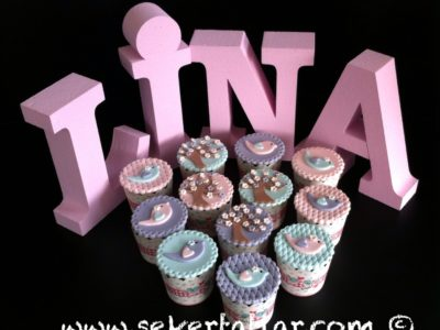 Baby Shower Cup Cake