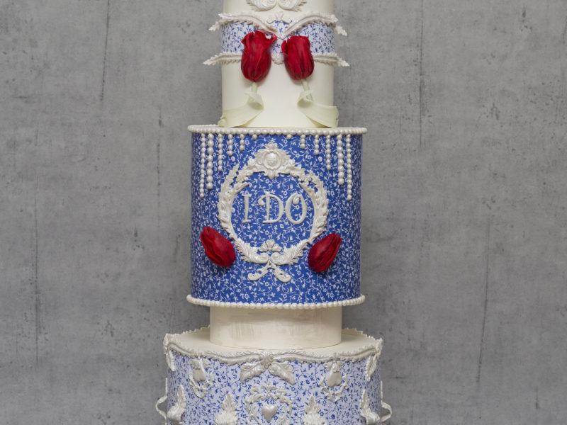 Romantik Düğün Pastası